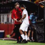 (+video) Josef Martínez volvió a disputar un partido oficial