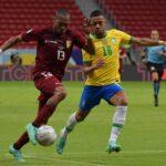 Venezuela cae ante Brasil en su debut por Copa América