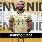 (+TUIT) Rubert Quijada se va al fútbol colombiano