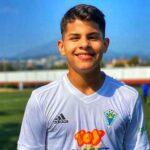 Leonardo Ortíz fue invitado a entrenar con el Málaga CF