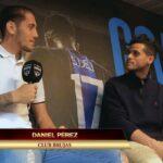 """Daniel Pérez: """"Trato de adaptarme rápido y tener los pies en la tierra"""""""
